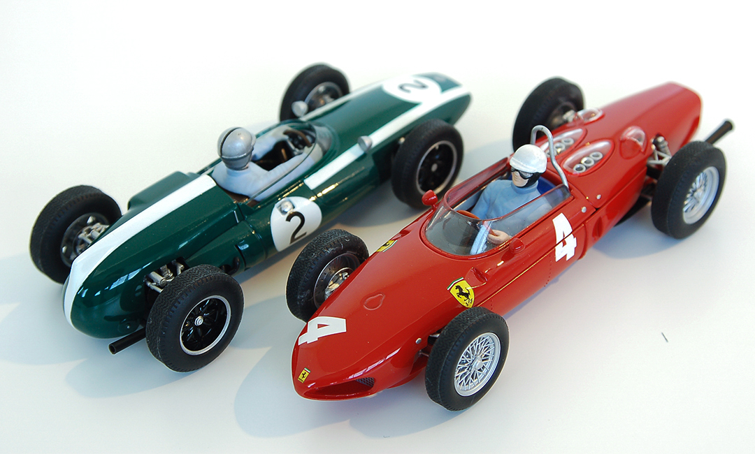 Cooper Climax and Ferrari Sharknose Slot Car