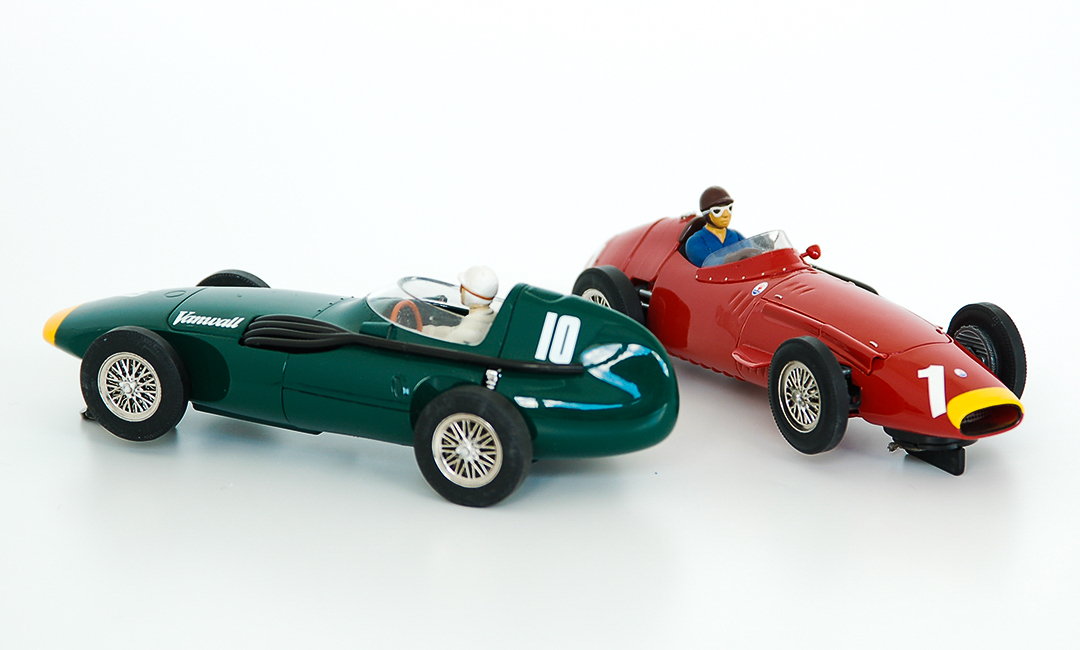 Maserati 250F and Vanwall Slot Car